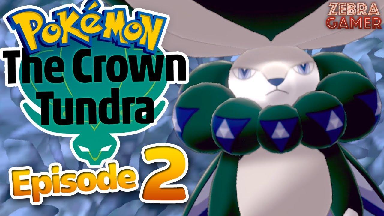 Zebra Gamer - Pokemon Sword and Shield: The Crown Tundra Gameplay Walkthrough Part 2 - Legendary Pokemon Calyrex!