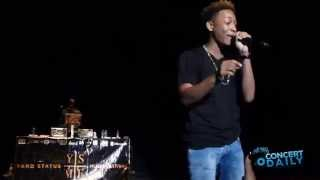 "Jacob Latimore performs ""Ah Yeah"" live at Yard Status Music Festival"