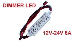 DIMMER điều khiển LED 12V-24V 6A