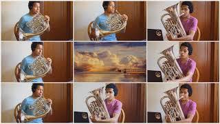One Summer's Day - Spirited Away - Horn and Euphonium Octet