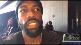 "GARY RUSSELL JR  SAYS HE IS READY FOR ""JOJO"" DIAZ"