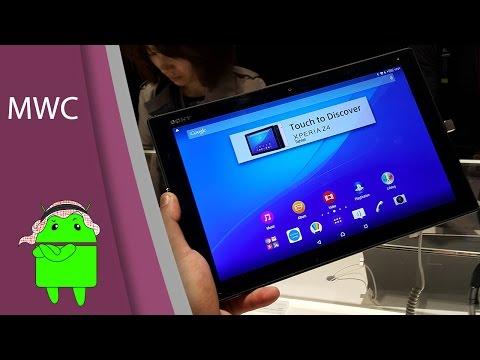 أول نظرة على الجهاز اللوحي الجديد من سوني الـ Xperia Z4 Tablet