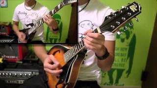 Dropkick Murphys - I'm Shipping Up to Boston (Mandolin and guitar cover)