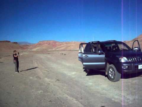 une pause au desert
