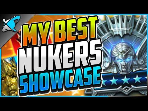 MY BEST NUKERS ! | Lydia + Best Champions Showcase | RAID: Shadow Legends
