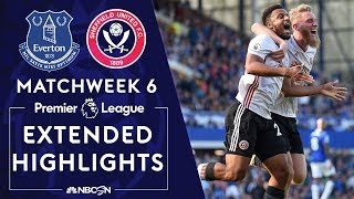 Everton v. Sheffield United | PREMIER LEAGUE HIGHLIGHTS | 9/21/19 | NBC Sports