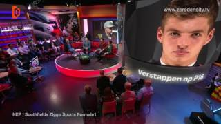 Ziggo Sports Virtual Studio & Augmented Reality