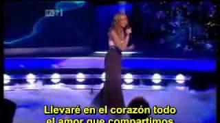 A Moment Like This - Leona Lewis - Live - English Lyrics - Subtitulado Español