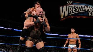 SmackDown: Sheamus & Big Show vs. Wade Barrett & Cody Rhodes