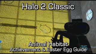 Halo MCC: Halo 2 - Animal Habitat Achievement & Easter Egg Guide
