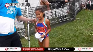 Kenya Perez Chicago Triathlon Kids Tri 2015