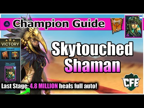 RAID Shadow Legends | Champion Guide | Skytouch Shaman