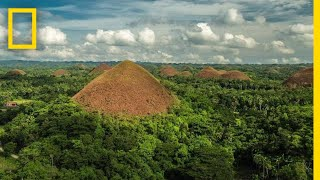 Soar Over the Chocolate Hills in the Philippines | National Geographic