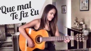 Que Mal Te Fiz Eu -  Gusttavo Lima ( Victoria Bicalho Cover)