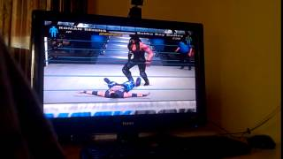 Roman Reigns in smackdown here comes the pain!!!