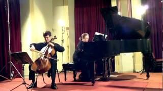 MARLOS NOBRE, Três Cantos de Iemanjá (3/3) Ogum de Lê, Leonardo Altino (cello)
