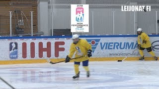 IIHF Women U18 High Performance Camp, on ice // Vierumäki, Finland 7.-14.7.2010