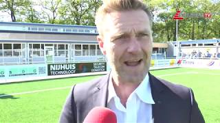 "Screenshot van video Peter Wesselink: ""Zes kansen en vier goals, dat is lekker"" 