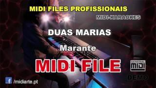 ♬ Midi file  - DUAS MARIAS - Marante