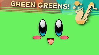 """Green Greens (From """"Kirby's Dream Land"""") Saxophone Game Cover"""