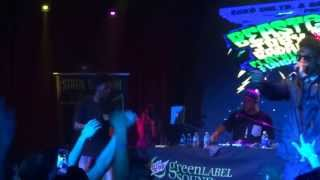 Joey Bada$$, Dyemond Lewis, Kirk Knight  -School High live BEASTCOASTAL TOUR
