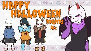 【 SwapFell Sans】 Happy Halloween 🎃