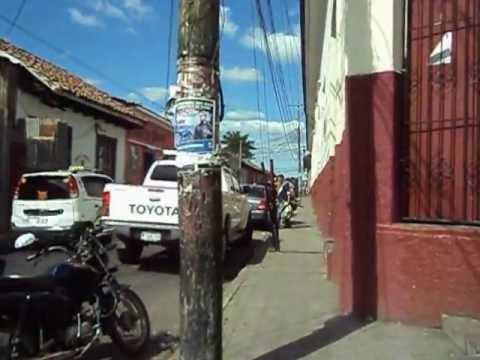 walking in Leon Nicaragua part 1
