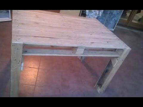 Come Realizzare Un Tavolo Da Giardino.Come Realizzare Un Tavolo Da Giardino Con Pallet Fai Da Te Mania