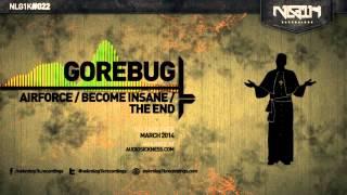 NLG1K DIGI 022 // GOREBUG - AIRFORCE EP