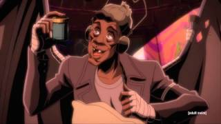 BaseHead - Junkies Delight (Rappers Delight parody) Black Dynamite