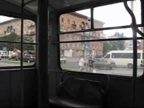 12.08.2010 Zaporizhzhya.Ukraine.+36*C.Rare trolleybus..and others…wmv