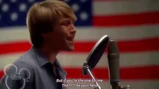 [HD] [Lyrics] Sterling Knight - Hero (Starstruck OST)