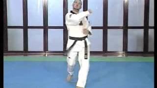 Forma de Taekwondo 4 Taeguk Sa Jang