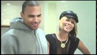 Keri Hilson and Chris Brown simulate sex on stage - www.Jemblog.com