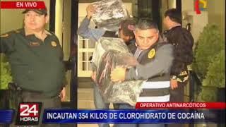 Policía incautó 354 kilos de droga en Magdalena