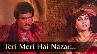 Teri Meri Hai Nazar Qatil Ki Khair Nahin - Reena Roy - Rajesh Khanna - Dharam Kanta - Hindi Songs