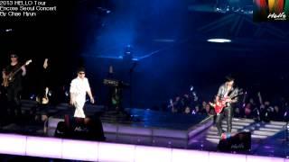 ChoYongPil 2013 Hello Tour Encore Seoul Concert 미지의세계
