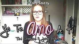 Cover #33 ~ Yo Te Amo A Ti - Tini Stoessel & Jorge Blanco