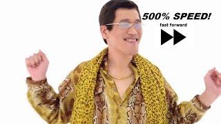 500% Speed [PPAP] Pen Pineapple Apple Pen (Fast Forwarded)
