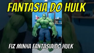 Hulk Fantasia Pronta para entrega