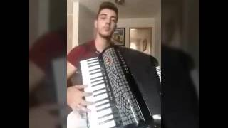 Traição não é acidente - Thaeme e Thiago (cover acordeon)