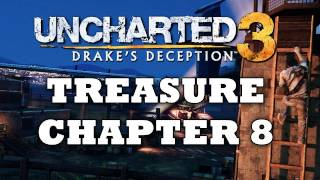 Uncharted 3 Treasure Locations: Chapter 8 [HD]