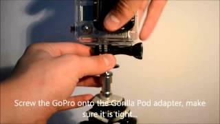 GoPro Tip #3 - The Gorilla Pod