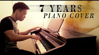 Lukas Graham - 7 Years (piano cover by Ducci, lyrics)
