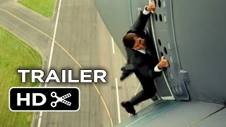 Mission: Impossible - Rogue Nation Official Trailer #1 (2015) - Tom Cruise, Simon Pegg Spy Movie HD width=