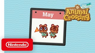 Animal Crossing: New Horizons gets a May critter spotlight video