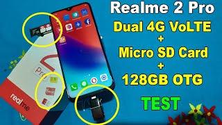 Relme 2 Pro Dual 4G VoLTE + Micro SD Card + 128GB OTG Test  ???