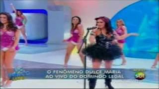 "Dulce Maria - ""Inevitable"" • Domingo Legal"