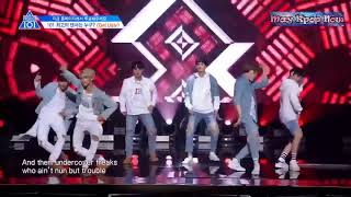 GET UGLY- Sự chênh lệch đẳng cấp - Idol Producer & Produce 101