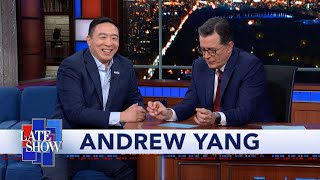 Andrew Yang Explains Why The 2020 Candidates Are A Very White Bunch